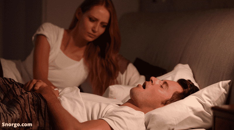 How to stop a man snoring