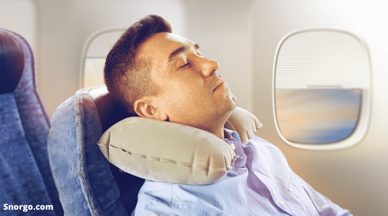 How to stop snoring sitting up