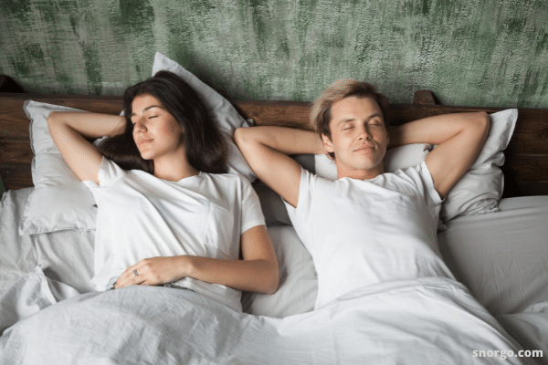 How to stop wife snoring